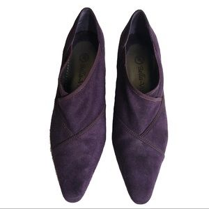 "Bella Vita Purple Suede Pumps 3"" Heel Size 7M"